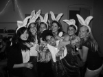 Luna Equites borrel.. the bunny ears were a gift